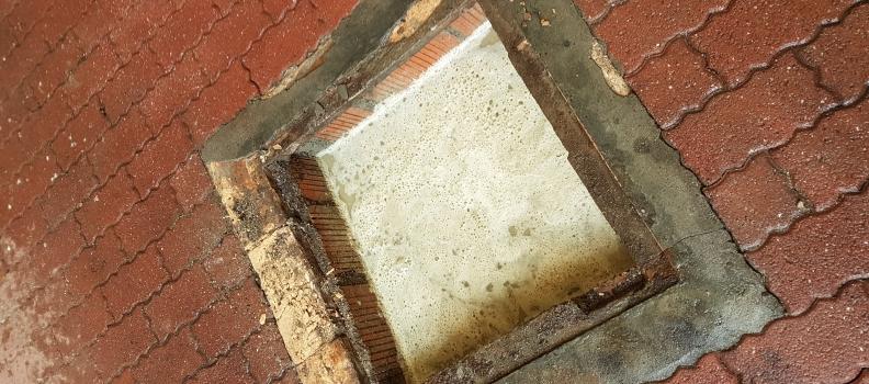 Dégazage et comblement béton d'une cuve enterrée : 19.04.17