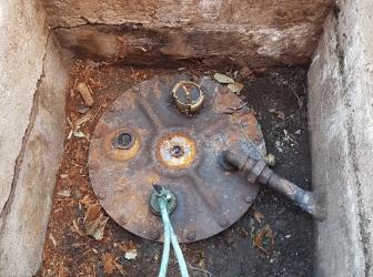 Comblement d'une cuve enterrée sur Senones (88) ce jeudi 6 juillet