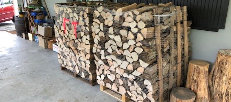 Livraison de bois de chauffage sur palette sur Colmar: le 07.06.18