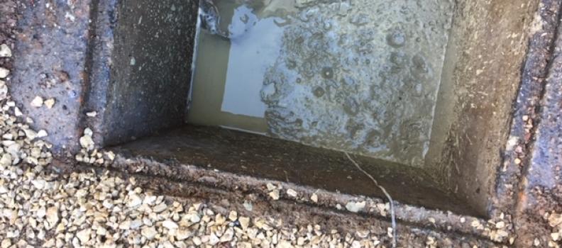 Nettoyage, dégazage et comblement cuve fioul enterrée sur Colmar: le 06.12.18
