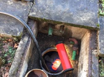 Nettoyage et dégazage cuve fioul enterrée sur Altkirch: le 15.01.19