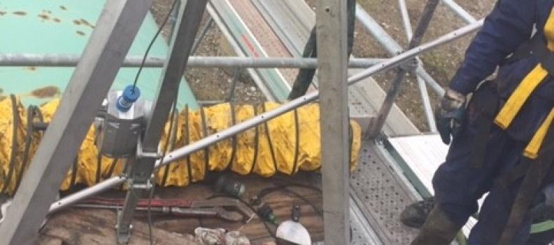 Nettoyage d'une cuve de 15m3 sur Biesheim: le 05.03.19