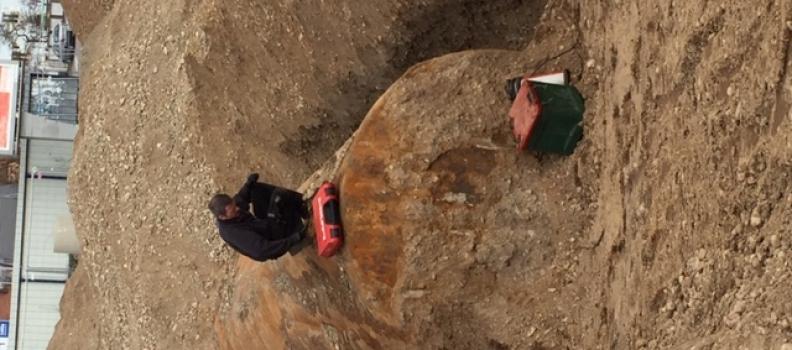 Nettoyage et dégazage d'une cuve fioul enterrée de 40M3 à WITTENHEIM