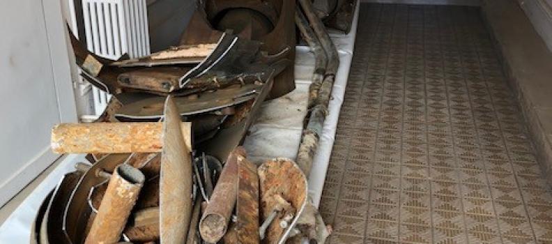 Enlèvement d'une chaudière par découpe sur Colmar: le 19.09.18