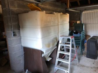 Livraison et remplissage de 2 pellets box sur Laveline-en Bruyères: le 25.02.19