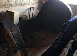 Nettoyage, dégazage et découpe cuve fioul de 3000l sur Benfeld : le 15.04.19