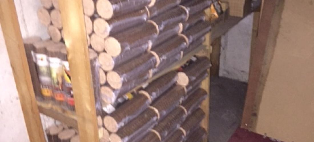 Livraison colmar centre bois densifi rang fioultech for Cuve fioul dans garage