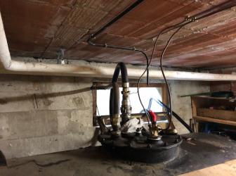 Nettoyage cuve fioul acier avec réamorçage de l'installation: le 10.05.19