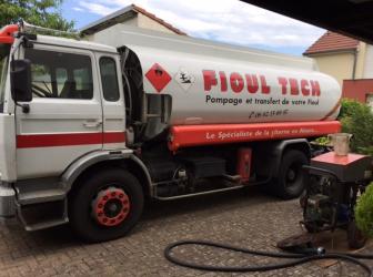 Nettoyage d'une cuve fioul sur Herrlisheim – vendredi 7 juillet