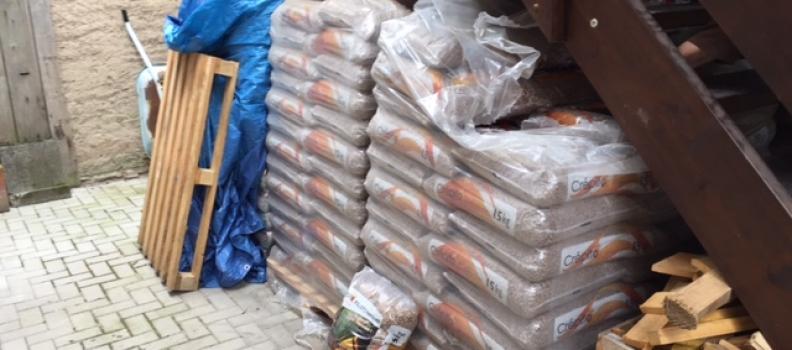 Livraison de granulés sur Muttersholtz ce lundi 24 juillet