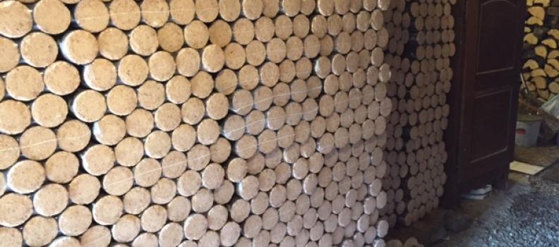 Livraison de 8 tonnes de bois densifié – Le bonhomme 08.08
