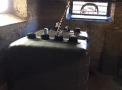 Enlèvement 3 cuves fioul et installation de 2 nouvelles cuves sur Obersaasheim: le 15.01.19