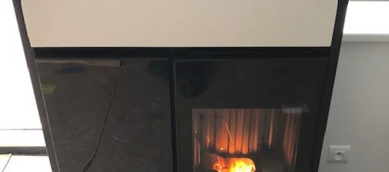 Installation poêle à granulés sur Labaroche : le 20.12.18