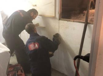 Nettoyage, dégazage et découpe sécurisée cuve fioul 5000l sur Lutterbach: le 12.12.18