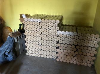 Livraison de bois densifié sur LABAROCHE: le 22.03.19
