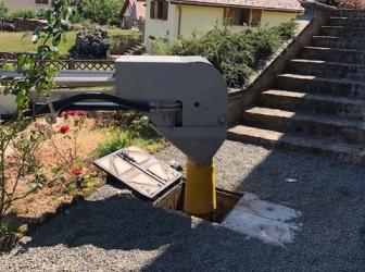 Neutralisation cuve fioul enterrée de 4000l sur Vescemont: le 24.07.18