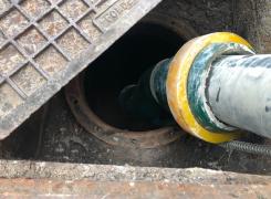 Dégazage et comblement béton d'une cuve enterrée de 5000L sur COLMAR : Le 05.09.19