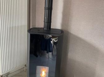 Pose poêle PALAZZETTI Béatrice 9kw étanche sur NIEDERHERGHEIM : le 03.03.2020